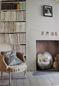 The Entertaining House: When decorating your home, have a ball - a disco ball!