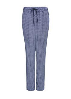 MANGO - Tapered retro print trousers