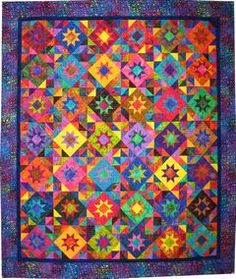 I'm making this out of scraps from a quilt Rachel made.  I hope to finish it in my lifetime.