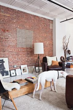 Méchant Studio Blog: a white loft in Manhattan