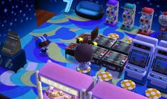 the town of Fuuto Ac New Leaf, Animal Crossing Qr, Home And Away, Arcade Games, Nerd, Coding, Qr Codes, Pinterest Board, Room Ideas