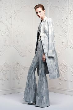 Alexander McQueen Resort 2013 Fashion Show - Margita Zuchova (ELITE)
