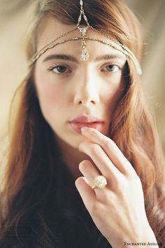 Enchanted Atelier by Liv Hart Fall/Winter 2015 Headpieces & Accessories Collection — Part II: Secret Garden | Wedding Inspirasi