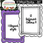 12 Different colored borders come in 300 JPEG and PNG formats! 1 unique handwriting style!  Terms of Use All designs are copyright Hugs Designs. Yo...