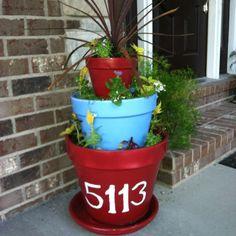Clay pot planter!