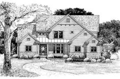 Houseplans.com Plan #20-818 Front Elevation