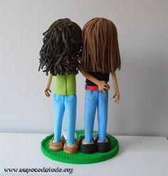 www.unpocodetodo.org - Fofuchas de Rebeca y Lara - Fofuchas - Goma eva - crafts - manualidades - personalizado - 6