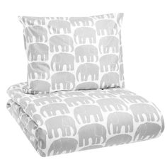 Elefantti duvet cover and pillow case