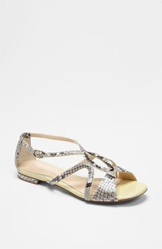 Alexandre Birman Flat Sandal available at Nordstrom Whew!  Thank Heavens they're not available in my size!
