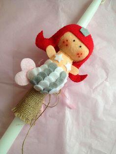Sugarbaby Art . . . : Οι λαμπάδες μας είναι εδώ! Easter, Christmas Ornaments, Holiday Decor, Blog, Home Decor, Felting, Manualidades, Decoration Home, Room Decor