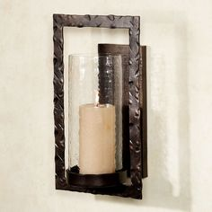 d97053ff67dc IMAX Circle Wall Sconce Candle Holder - 20274