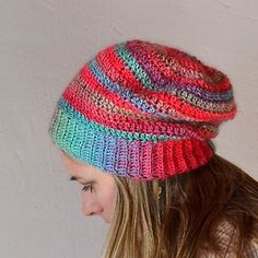 Unforgettable Hat - One skein pattern…I had so much left over after making the hat, I was able to make a pair of fingerless mitts