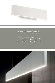 Moderne LED Wandleuchte mit abgerundeten Kanten und schlichten Design. LED nach oben und unten strahlend. Kaufen im Lichtakzente Lampen & Leuchten Online-Shop.