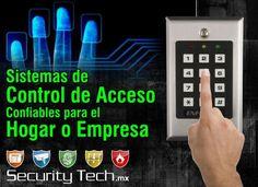 Sistemas de Control de Acceso Confiables para el Hogar o Empresa. Security Tech, Vanguardia en Seguridad. Encuéntralos en Connection Plaza | www.connectionplaza.com.mx #ConnectionPlaza #SecurityTech
