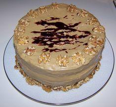 "Kentucky Jam Cake--spice cake, caramel frosting, blackberry jam - good thing for pot-lucks or parties - an easy version calls for 1 box spice cake...1-1/3 c. milk...3 eggs...1 (18-oz) jar blackberry jam...1 c. chopped pecans...1 c. golden raisins...bake in 3 (9"") layers at 350-F."