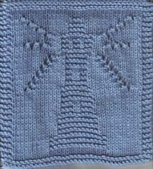 Knitted Lighthouse Cloth