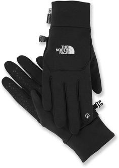 Keep in touch even when it's cold - The North Face Etip Gloves.