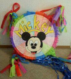 Create your own pinata-mickey-drawing fun-creative-party fun