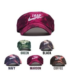 Bleached Trap Dad Hats