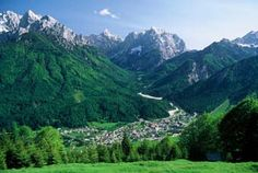 Kranjska Gora, Slovenia. Where my great grandparents came from.  My #1 place to visit.