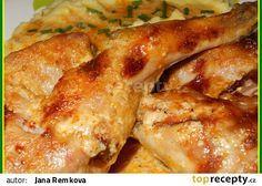 Labužnický králík na smetaně recept - TopRecepty.cz Poultry, French Toast, Food And Drink, Treats, Chicken, Cooking, Breakfast, Straws, Recipe