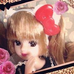 キティさんコラボのリカちゃんげと〜\(^o^)/? #Girlish #Culture #japan #dollphotography #doll #instadoll  #dolly #リカちゃん #licca #takara #liccachan #licca_chan #liccadoll #人形 #hellokitty #kitty #キティ #ハローキティ #キティコラボ
