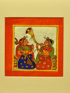 Phad Painting, Worli Painting, Fabric Painting, Indian Traditional Paintings, Indian Art Paintings, Traditional Art, Madhubani Art, Madhubani Painting, Rajasthani Painting