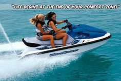 """""""Life begins at the end of your comfort zone.""""  – Neale Donald Walsch #extremefun #attractions #adrenaline #sunnybeach"""