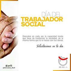 """Felicitaciones a los Trabajadores Sociales en su día @Regrann from @orinokia_mall  -  """"Día del Trabajador Social"""" Disciplina social que promueve el cambio y el desarrollo social. ¡Feliz Día! #Regrann"""