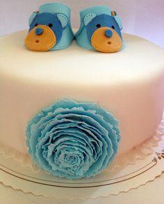 Aleksi's Christening Cake/Ancka bakar kakor: Aleksin kastekakku