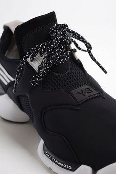 f942da5d6c7 Y-3 BLACK AND WHITE KOHNA SNEAKERS via wrongweather.More sneakers here.