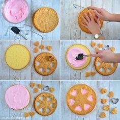 Valentijn Lemon Meringue Wolken cake - Laura's Bakery