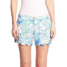 Lilly Pulitzer Buttercup Shorts ($68) ❤ liked on Polyvore