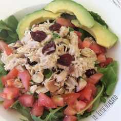 chicken salad with their ginger cilantro sauce...so dang #NomNom  https://www.facebook.com/TeamJERF