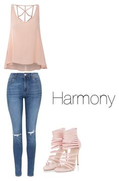 Harmony by explorer-14571193261 on Polyvore featuring polyvore, fashion, style, Glamorous, Topshop and clothing