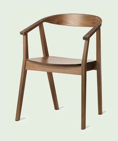 You'd be hard-pressed to find a Mid-Century-style piece for less than this handsome Stockholm Chair from ikea.com. About $140. | thisoldhouse.com dine, idea, ikea stockholm, dining chairs, walnut, hous, furnitur, desk chairs, stockholm chair