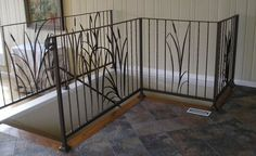 Our custom made railings are constructed out of steel or aluminum using a variety of architectural components to create a unique railing for your home or business. Description from pdmetals.com. I searched for this on bing.com/images