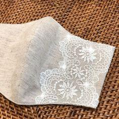 Sewing Art, Love Sewing, Diy Mask, Diy Face Mask, Sewing Hacks, Sewing Projects, Bridal Mask, Crochet Mask, Lace Mask