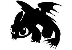 Toothless svg Toothless eps Toothless silhouette by ArtPrintsLab