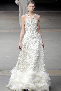 Brautkleider 2012 Alexander McQueen