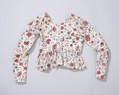 print chintz, dutch costum, 18th centuri, earli cloth, antiqu costum