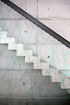 :: STAIRS :: love concrete and clever guardrail detail, timeless yet bold - adore the work of  firm MO Architekten