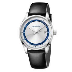 Ανδρικό quartz ελβετικό ρολόι CALVIN KLEIN KAM211C6 Completion με ημερομηνία, ασημί καντράν και λουρί | Ρολόγια CK ΤΣΑΛΔΑΡΗΣ στο Χαλάνδρι #Calvin #Klein #Completion #tsaldaris