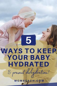 It's always good to start a good hydration routine with your kids at an early age for their safety. Take a look at these 5 steps on how to keep your baby hydrated and prevent dehydration. #preventdehydrationinbabies #parentingtips #preventdehydrationinkids #howtopreventdehydrationinbabies Baby Dehydration, Parenting Humor, Parenting Hacks, Pregnancy Advice, Baby Care Tips, Useful Life Hacks, Breastfeeding Tips, Survival Guide, Infants
