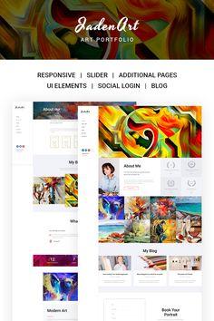 Jaden Art - Art Portfolio Joomla Template https://www.templatemonster.com/joomla-templates/jaden-art-art-portfolio-joomla-template-67177.html/