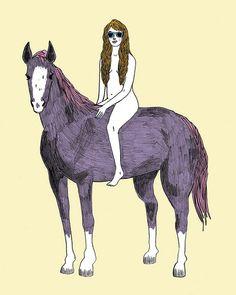 Lady Godiva by Katie Turner