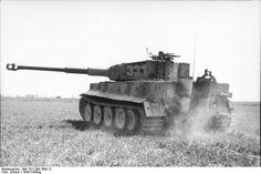 Mid.-Production Tiger-I, Northern France, Spring 1944