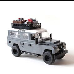 I'm not sure who would want this more, my kids or my husband. Probably my husband:) Lego Military, Lego Army, Lego Projects, Cool Lego, Awesome Lego, Lego Truck, Lego Builder, Amazing Lego Creations, Lego Boards
