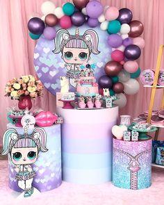 Lol unicórnio 🦄 #lolunicornio #lolparty #festalol #lolideias #festalolunicornio #pocketparty 7th Birthday Party Ideas, Birthday Parties, Girls Party Decorations, Doll Party, Lol Dolls, Birthdays, Ideas Para, Ideas Cumpleaños, Pink Party Decorations