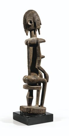 DOGON FIGURE, MALI - haut. 48 cm 18 7/8 in